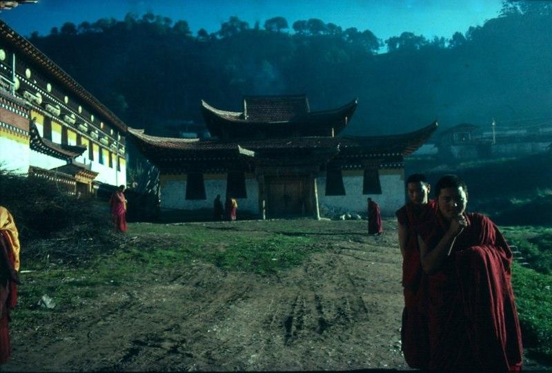 Lamusi kloster - Tibet