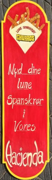 Lune spanskrør i Tivoli