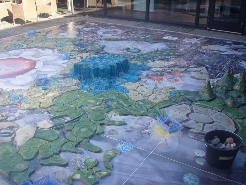 landkort til genopbygning