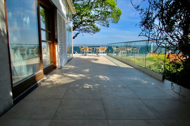 færdig terrasse af Richard Wettstein
