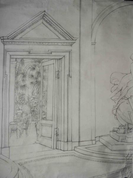 illustration fra Glyptoteket