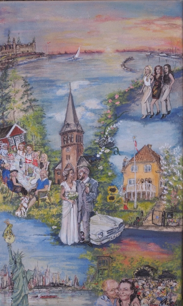 bryllups miniature