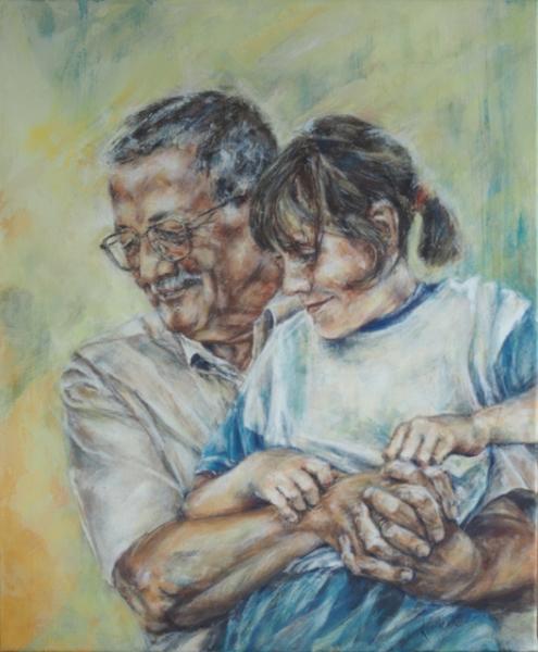Morfar og jeg