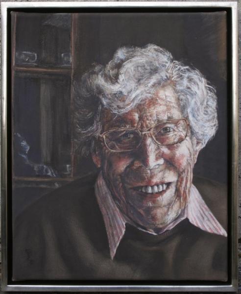 portræt af Udda Lundquist