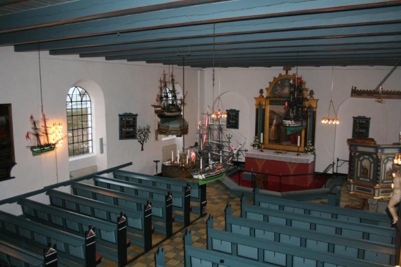 Hornbæk Kirke Indvendig