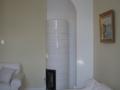 Hvid kakkelovn